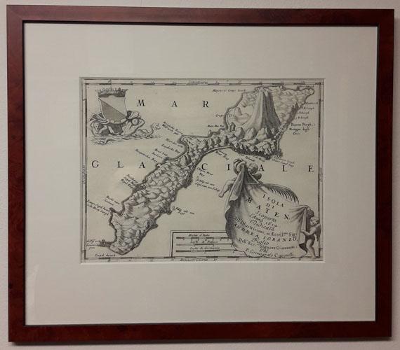 (JAN MAYEN) Isola di Mayen, Scoperta l'Anno 1614.