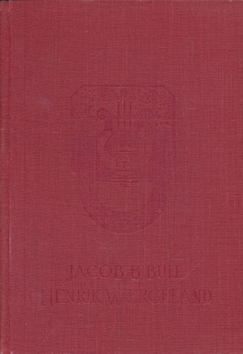 (WERGELAND, HENRIK) Henrik Wergeland. En bok for det norske folk.