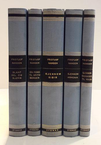 Nansen-serien. Fra Svalbard til Kaukasus. Redigert av Werner Werenskiold.