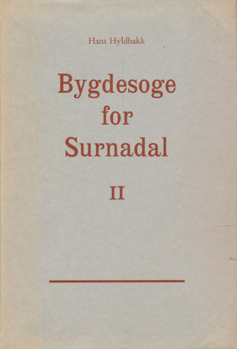 Bygdesoge for Surnadal. II.