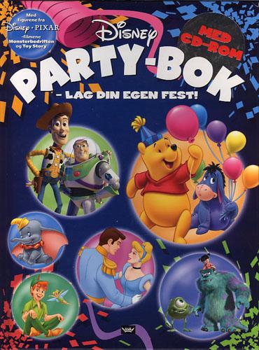 DISNEY PARTY-BOK.  - Lag din egen fest!