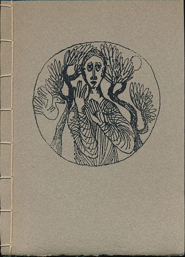 (KALLIGRAFI) DER PASSIONSBERICHT DES MARKUS IN DER ÜBERSETZUNG MARTIN LUTHERS.  Kalligraphie und Graphik von Hans-Joachim Burgerl.