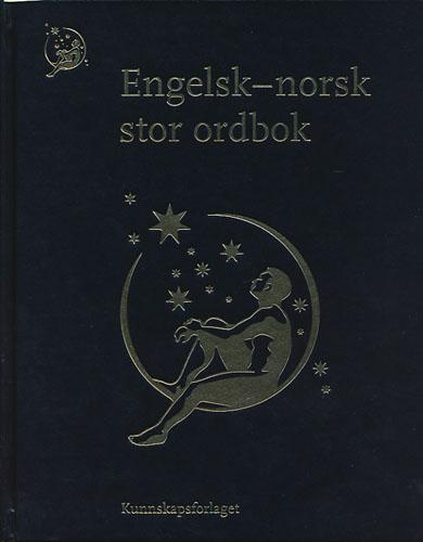 ENGELSK-NORSK STOR ORDBOK.