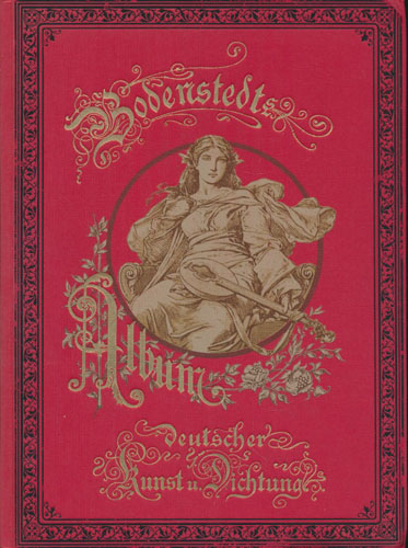 Album deutscher Kunst und Dichtung. Herausgegeben von -.