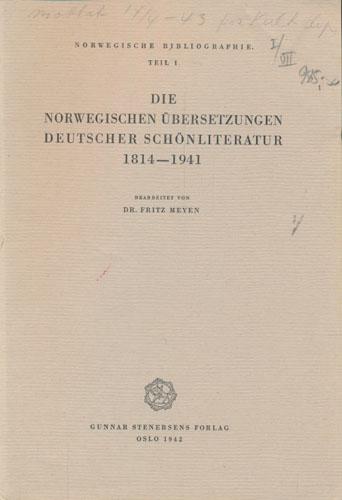 Norwegische Bibliographie.