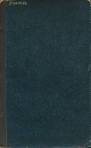 (DUNKER, BERNHARD:) Flyveblad. Om Statholderposten. No (1)-5. Komplett.