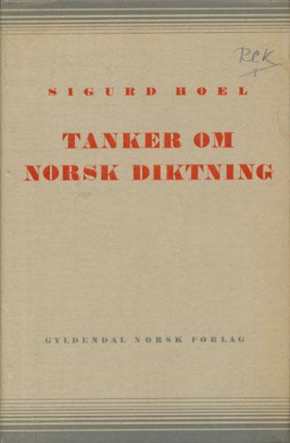 Tanker om norsk diktning.