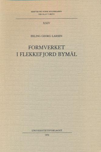 Formverket i Flekkefjord bymål.