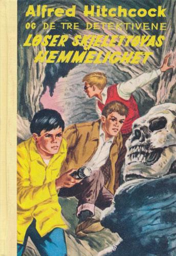 (ALFRED HITCHCOCKS DETEKTIVSERIE)  6. Alfred Hitchcock og de tre detektivene og skjelettøyas hemmelighet.