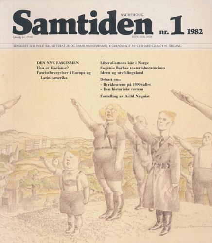 SAMTIDEN.  Tidsskrift for politikk, litteratur og samfunnsspørsmål.