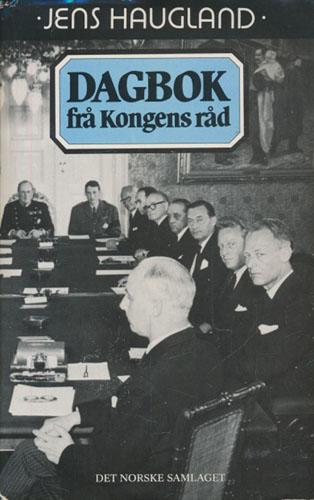 Dagbok frå Kongens Råd.
