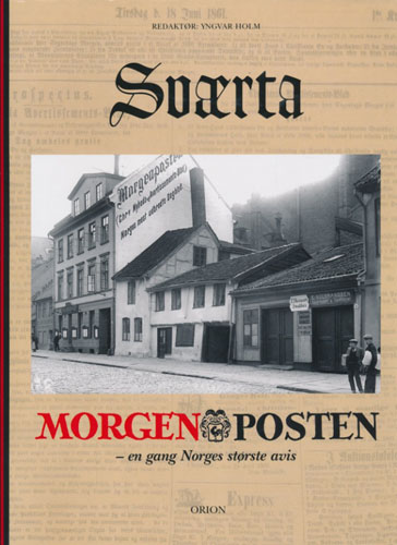 Sværta. Morgenposten - en gang Norges største avis.