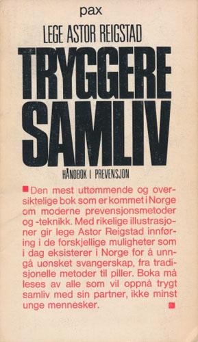 Tryggere Samliv. Håndbok i prevensjon.