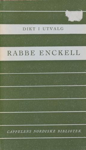 (CAPPELENS NORDISKE BIBLIOTEK) Dikt i utvalg ved Erling Nielsen.