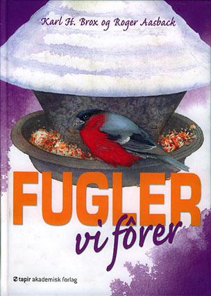 Fugler vi fôrer. Illustrasjoner: Roger Aasback.