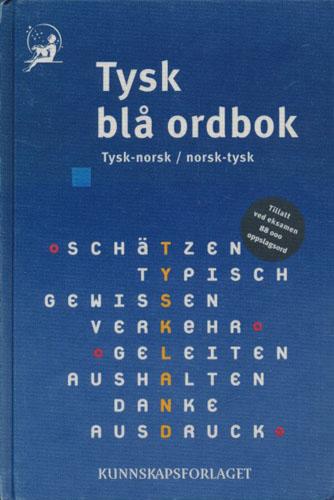 Tysk blå ordbok. Tysk-norsk/norsk-tysk.