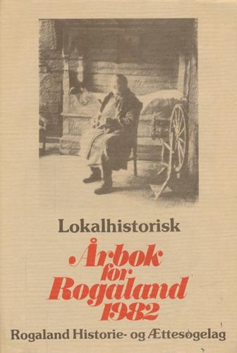 ÆTT OG HEIM.  Rogaland historie- og ættesogelag.