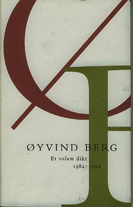 Et volum dikt. 1982-1994. Med etterord av Brit Bildøen.