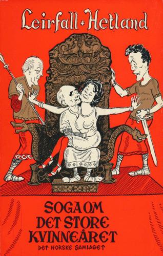 Soga om det store kvinneåret. Teikningar av Audun Hetland.