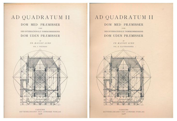 Ad Quadratum II. Dom med præmisser over den internationale domskommissions dom uden præmisser.