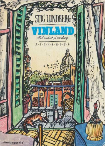 Vinland. Med vinkart på vandring. Tegninger av Hans Normann Dahl.