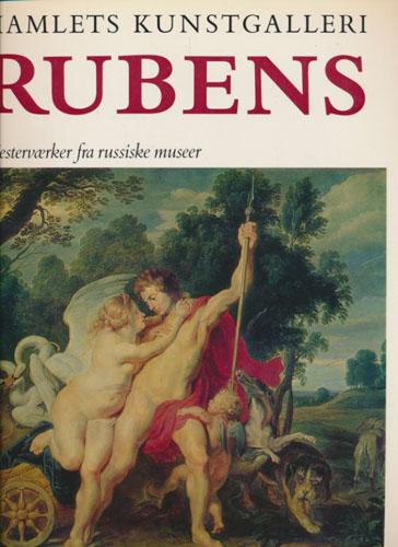 (RUBENS) Hamlets Kunstgalleri. Rubens. Mesterværker fra russiske museer. Forord af Jan Garff.