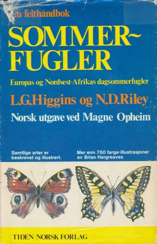 Sommerfugler. Europas og Nordvest-Afrikas dagsommerfugler. Norsk utgave ved Magne Opheim.