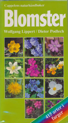 (CAPPELENS NATURHÅNDBØKER) Blomster. 415 arter i farger.