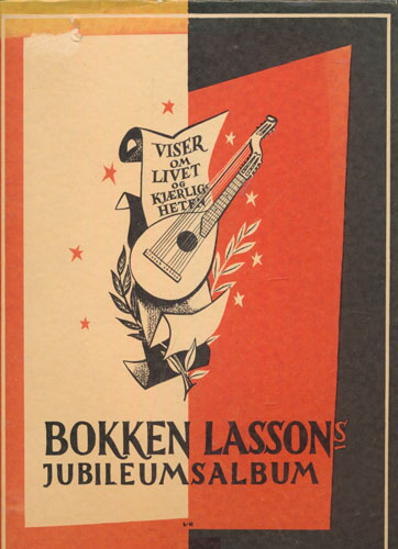 (LASSON, BOKKEN) Bokken Lassons Jubileums-Album. Bokutstyr ved Leif Henstad.