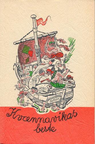 KVÆNNAVIKAS BESTE.  Tegninger av Nils Moa, Th. Klouman og Ernst Biermann.