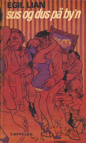 Sus og dus på by'n. Illustrert av J.P. Fongen.
