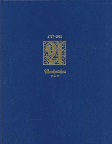 ADRESSEAVISEN 225 ÅR 1767-1992.