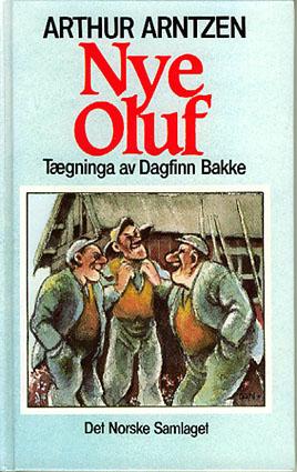 Nye Oluf. Tægninga av Dagfinn Bakke.