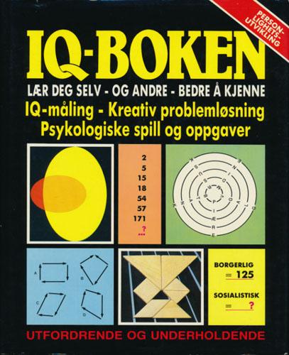 IQ-boken. Lær deg selv - og andre - bedre å kjenne.