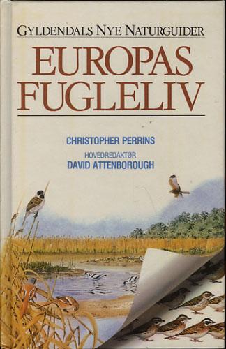 Europas fugleliv. Hovedredaktør David Attenborough.