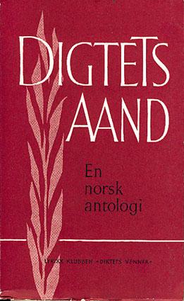 DIGTETS AAND.  En antologi ved Nils Lie.