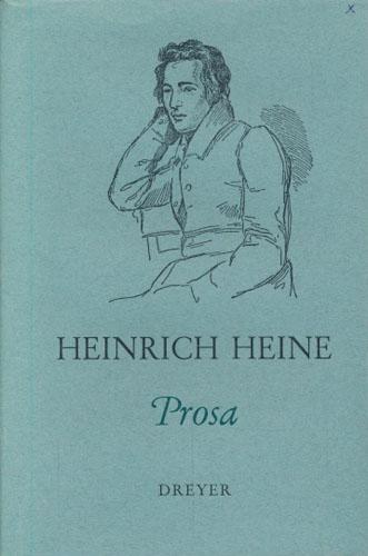 (DREYERS KULTURBIBLIOTEK) Prosa. Utvalg, oversettelse og innledning av Trygve Greiff.