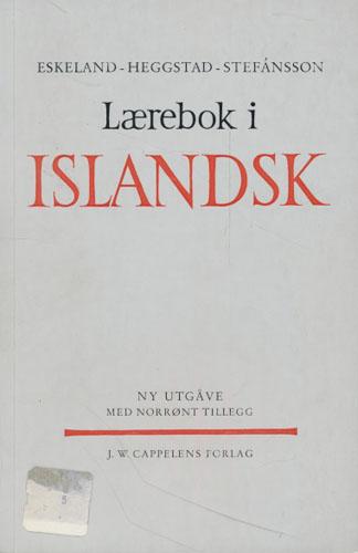 Lærebok i islandsk. Ny utgåve med norrønt tillegg.