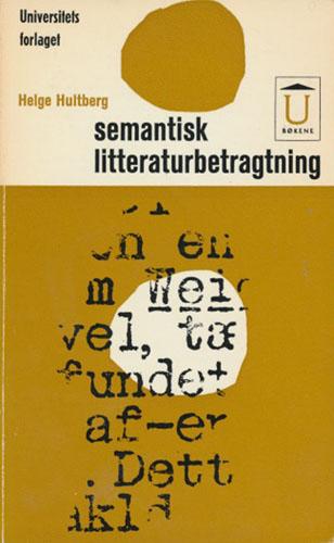 Semantisk litteraturbetragtning.