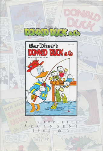 (DISNEY) DONALD DUCK & CO.  De komplette årgangene