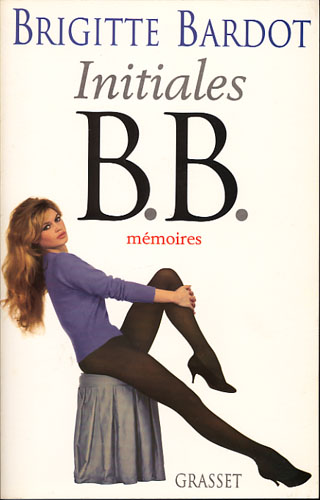 Initiales B.B. Mémoires.