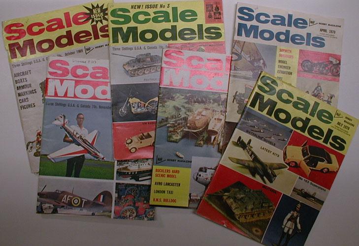 (MODELLBYGGING) SCALE MODELS.  Editor: R.G. Moulton.