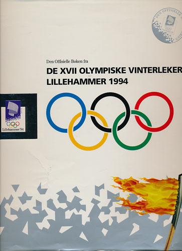 DEN OFFISIELLE BOKEN FRA DE XVII OLYMPISKE VINTERLEKER LILLEHAMMER 1994.  Knut Bjørnsen (Red.)