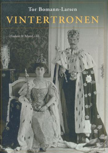 (HAAKON VII) Vintertronen. Haakon & Maud III.