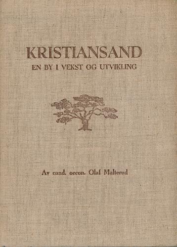 Kristiansand. En by i vekst og utvikling. Utgitt i anledning av Kristiansands Handelsstands Forenings 100-års jubileum 30. november 1948.
