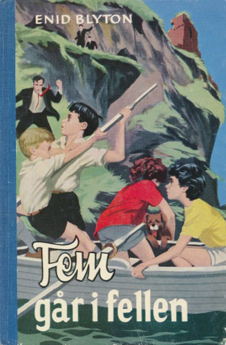 (FEM SERIEN)  9. Fem går i fellen.