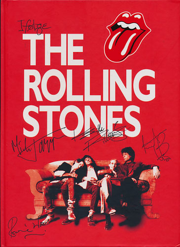 (ROLLING STONES) Ifølge The Rolling Stones (According to the Rolling Stones). Mick Jagger - Keith Richards - Charlie Watts - Ronnie Wood.