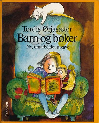 Barn og bøker.