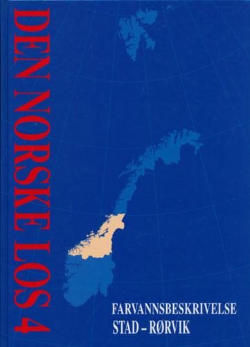 DEN NORSKE LOS.  Bind 4. Farvannsbeskrivelse Stad-Rørvik.
