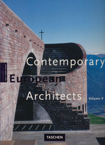 Contemporary European Architects.